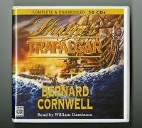Sharpe's Trafalgar: by Bernard Cornwell - Unabridged Audiobook - 10CDs