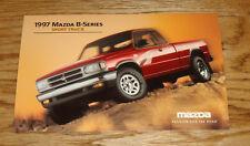 Original 1997 Mazda B-Series Sport Truck Large Post Card 97