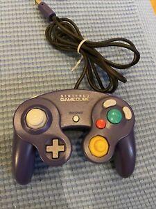 Nintendo Indigo GameCube Controller purple official  oem