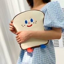 Cartoon Toast Tablet Protective Case Laptop Bag for iPad Pro 9.7/10.5/11in