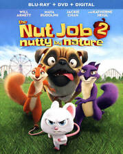 The Nut Job 2: Nutty by Nature (Blu-ray/DVD, 2017, 2-Disc Set, Digital HD) New!