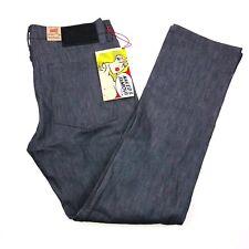 Naked & Famous Skinny Guy Stretch Gray Selevedge Raw Denim Jeans Mens 38x34 NWT