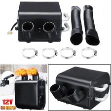 2-Hole 12V Car Heater Heating Hot Fan Warmer Window Defroster Demister Universal