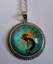 Halskette KOKOPELLI Necklace indianischer Flötenspieler Indianer Southwest