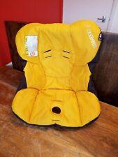 Maxi Cosi Cabriofix car seat fabric cover yellow