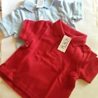 Lot of 2 The Children's Place Boys Toddler Polo Shirts Size 6-9 M