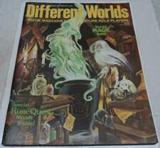 DIFFERENT WORLDS #36 MAGAZINE FOR ROLE-PLAYERS (1984) MAGIC ISSUE (FN+) RARE