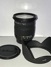 Sigma 17-70mm f/2.8-4 HSM DC Lens For Nikon