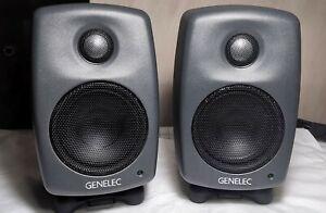 Genelec 8010A Bi-Amplified Monitor - PAIR