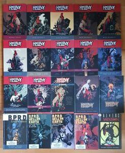 Hellboy B.P.R.D. & Mike Mignola - Lot of 20 TPB - Dark Horse Comics - BPRD