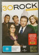 30 Rock The Complete Season 4 DVD TV Series Comedy 3 Disc Set
