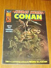 SAVAGE SWORD OF CONAN #6 VF (8.0) JUNE 1975 CURTIS US MAGAZINE~