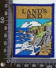 VINTAGE LAND'S END ENGLAND EMBROIDERED SOUVENIR PATCH WOVEN CLOTH SEW-ON BADGE