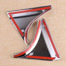 Coperchio laterale cromato per finestra posteriore per Nissan Qashqai J11 14-18