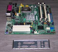 403714-001 HP/Compaq dc5100 Mainboard S775 inkl. I/O Slotblech Sockel 775
