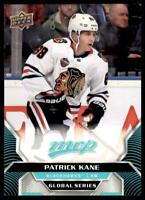 2020-21 UD MVP Base Global Series SP #GSC-1 Patrick Kane -Chicago Blackhawks