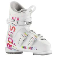 2017 Rossignol Fun Girl J3 White 20.5 Jr Girls Ski Boots RBE5130