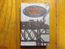 LARRY MILLETT Signed Book(SHERLOCK HOLMES AND THE RED DEMON-1996 1st Edit Hardba