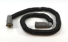 Lappkabel Ölflex-PUR S schwarz mit 2x Harting HAN 4A-M Stecker + Gehäuse 90cm
