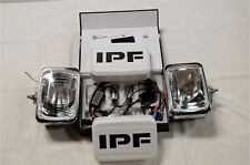 IPF 800 RECTANGLE HID 70W SPOT DRIVING LIGHT KIT + WIRING LOOM & CLEAR COVERS