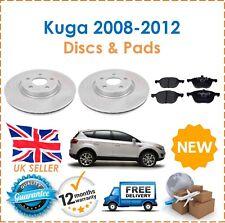For Ford Kuga MK1 2008-2012 Two Front Vented Brake Discs 300MM & Brake Pads Set