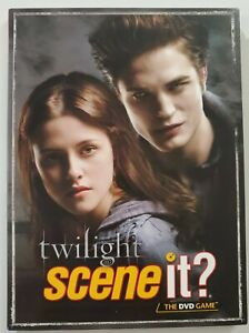 Scene It? TWILIGHT DELUXE Edition - DVD w/ Case ONLY - Replacement Parts/Pieces