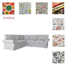 Custom Made Cover Fits IKEA EKTORP Corner Sofa 2+2 , Sectional Sofa, Patterned