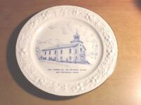 Vintage Homer Laughlin Zion Evangelical Reformed Church Plate New Providence PA