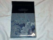 Ralph Lauren Standard Pillow Sham - Indigo Montauk Floral Blue
