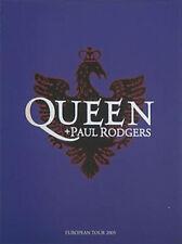 Queen + Paul Rodgers Original 2005 European Tour Book Concert Program w/photos