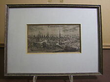 Kopenhagen - Kupferstich von Chr. Riegel - gerahmt
