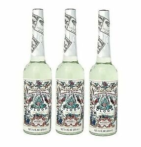 Murray & Lanman Florida Water Cologne 7.5 Oz - Three (3) Plastic Bottles