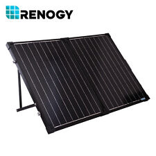 Renogy 100 W Watts 12V Mono Portable Solar Folding Suitcase w/ Charge Controller