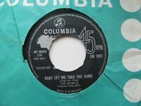 """THE ANIMALS Baby Let Me Take You Home/Gonna Send You Back To Walker UK 7"""" Single"""