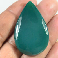 Details about  /100 Pieces 5x7 mm Pear Natural Green Onyx Cabochon Loose Gemstones