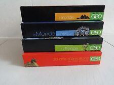 Collection GEO Lot 4 calendriers réutilisables