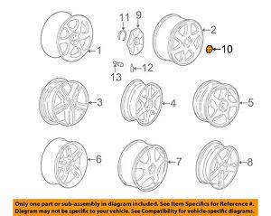 VOLVO OEM 98-06 V70 Wheel-Center Cap Hub Cover 30666913