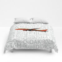 Southwest Airlines Boeing 737 (Classic Colors) - Queen Size Comforter