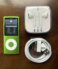 Apple Ipod Nano 4th Generation 16gb Green Good Condition!
