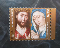 2016 LUXEMBOURG PAINTINGS ALBRECHT BOUTS SET OF 2 MINT STAMP MNH
