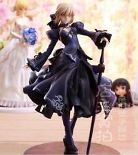 Fate/stay night Grand Order Saber Black Robe Ver. PVC Action Figure Anime Toy