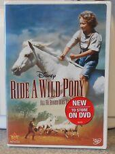 Ride a Wild Pony (DVD, 2009) RARE 1975 DISNEY BRAND NEW W BUENA STAMP