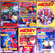 (M28) Lot de 6 JOURNAL DE MICKEY années 2000