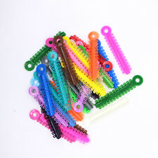 Dental Orthodontic Stick Ligature ties Rubber Bands Rings Elastic Multi-color
