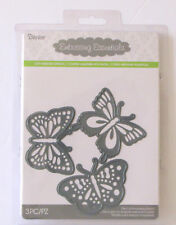 Darice Embossing Essentials - Cut Embross Stencil - 3 Piece Butterfly Dies NEW