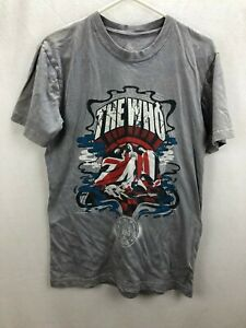 THE WHO T-SHIRT - ROCK AND ROLL HALL OF FAME MUSEUM INDUCTEE - INDUCTED 1990