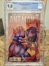 "Astonishing Ant-Man #10 - Marvel 2016 CGC 9.8 ""Death of X"" Frison Variant cover."