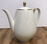 Beautiful Elegant Vintage Winterling Roslau Bavaria Teapot Porcelain China Tall