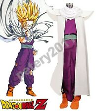 Dragonball Z Son Gohan Super Saiyan Fighting Uniform Cosplay Costume
