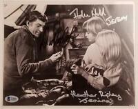 DICK VAN DYKE Signed 8x10 Photo + Hall Ripley Chitty Bang D~ Beckett BAS COA